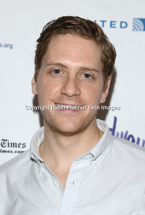 Andy Kelso attends the 28th Annual  Broadway Cares/ Equity Fights Aids Flea Market and Auction on September 21,2014 in Shubert Alley in New York City. <br /> <br /> photo by Robin Platzer/Twin Images<br />  <br /> phone number 212-935-0770