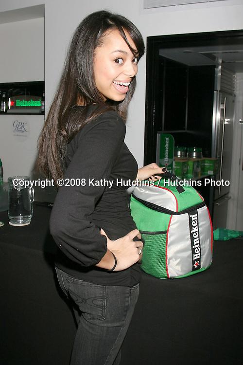 Amber Stevens.Heineken.GBK Gifting Suite.Thompson Hotel.Beverly Hills, CA.January 10, 2008.©2008 Kathy Hutchins / Hutchins Photo...            .