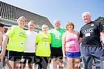 l-r  Katie Grimes, Donie Sullivan, Joan Keane, Tom Browne, Joan O'Connell and Johnny Connell. at the  Donal Walsh Spa 6k Challenge and family fun day at Spa NS on Sunday