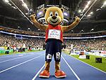 14.02.2020, Mercedes Benz Arena, Berlin, GER, ISTAF-Indoor 2020 Berlin, im Bild <br /> Maskottchen - Berlino<br /> <br />      <br /> Foto © nordphoto / Engler