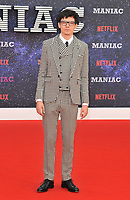 Asa Butterfield at the &quot;Maniac&quot; UK TV premiere, BFI Southbank, Belvedere Road, London, England, UK, on Thursday 13 September 2018.<br /> CAP/CAN<br /> &copy;CAN/Capital Pictures