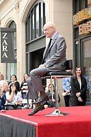 LOS ANGELES - MAY 7:  Alan Arkin at the Alan Arkin Star Ceremony on the Hollywood Walk of Fame on May 7, 2019 in Los Angeles, CA