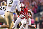 Wisconsin Badgers defensive back D'Cota Dixon (14) pursues the quarterback during an NCAA College Football Big Ten Conference game against the Purdue Boilermakers Saturday, October 14, 2017, in Madison, Wis. The Badgers won 17-9. (Photo by David Stluka)