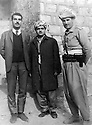 Iraq 196?.From right to left, Mustafa Bag, Saber Barzani and ...