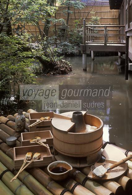 """Asie/Japon/Kyoto: Le """"Tofu"""" - Recette du restaurant """"Junsei"""""""