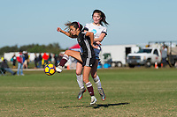 Lakewood Ranch, FL - Sunday Dec. 10, 2017: Erin Carelton (7) during the 2017 Development Academy Winter Showcase & Nike International Friendlies at Premier Sports Campus at Lakewood Ranch, FL.