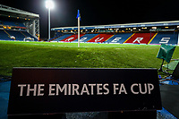 A general view of Ewood Park, home of Blackburn Rovers<br /> <br /> Photographer Alex Dodd/CameraSport<br /> <br /> Emirates FA Cup Third Round Replay - Blackburn Rovers v Newcastle United - Tuesday 15th January 2019 - Ewood Park - Blackburn<br />  <br /> World Copyright © 2019 CameraSport. All rights reserved. 43 Linden Ave. Countesthorpe. Leicester. England. LE8 5PG - Tel: +44 (0) 116 277 4147 - admin@camerasport.com - www.camerasport.com