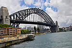 The Sydney Harbour Bridge in Sydney, Australia.