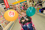 Alfie McEnearney at the opening of the Dealz new store in Lakeland retail Park, Cavan.<br /> <br /> Picture Fran Caffrey /Newsfile