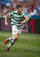 July 16, 2010 Charles Mulgrew No. 21 of Celtic FC d during an international friendly between Manchester United and Celtic FC at the Rogers Centre in Toronto.