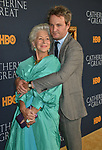 "a_Helen Mirren, Jason Clarke 017 attends the Los Angeles Premiere Of The New HBO Limited Series ""Catherine The Great"" at The Billy Wilder Theater at the Hammer Museum on October 17, 2019 in Los Angeles, California."