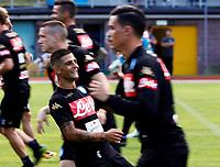 Lorenzo Insigne  durante il  ritiro precampionato del SSC Napoli a Dimaro<br />  05 Luglio  2017