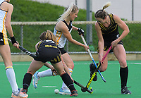 Action from the Wellington Hockey women's open grade premier one match between Harbour City and Dalefield at National Hockey Stadium in Wellington, New Zealand on Saturday, 22 June 2019. Photo: Dave Lintott / lintottphoto.co.nz