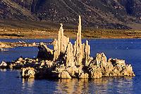 Mono Lake, California, USA Alkaline jagged stone formations in arcenic water