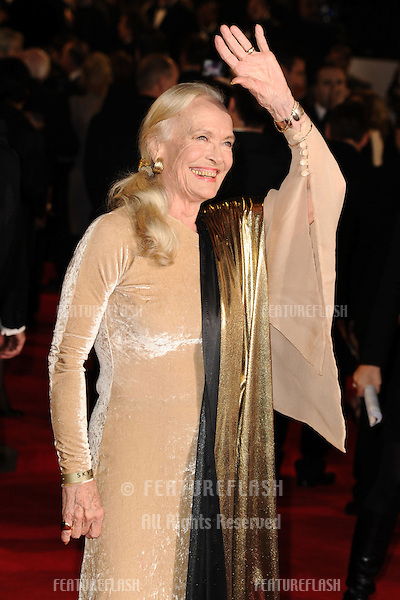 Shirley Eaton arriving for the Royal World Premiere of 'Skyfall' at Royal Albert Hall, London. 23/10/2012 Picture by: Steve Vas / Featureflash