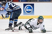 (Derek Damon) Justin Abdelkader - The University of Maine Black Bears defeated the Michigan State University Spartans 5-4 on Sunday, March 26, 2006, in the NCAA East Regional Final at the Pepsi Arena in Albany, New York.
