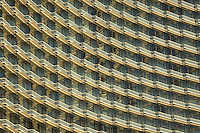 Hotel windows in Las Vegas, Nevada