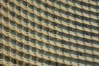 Hotel windows in Las Vegas, Nevada