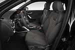 Front seat view of a 2019 Audi SQ2 Base 5 Door SUV front seat car photos