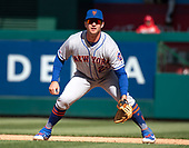 New York Mets first baseman Pete Alonso (20) in the field during the seventh inning against the Washington Nationals at Nationals Park in Washington, DC on Sunday, March 31, 2018.  The Nationals won the game 6-5.<br /> Credit: Ron Sachs / CNP<br /> (RESTRICTION: NO New York or New Jersey Newspapers or newspapers within a 75 mile radius of New York City)