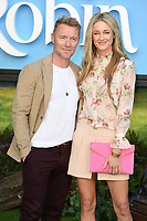 "Ronan and Storm Keating<br /> arriving for the ""Christopher Robin"" premiere at the BFI Southbank, London<br /> <br /> ©Ash Knotek  D3416  05/08/2018"