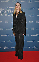 Ellie Bamber at the Newport Beach Film Festival UK Honours, The Langham Hotel, Portland Place, London, England, UK, on Thursday 07th February 2019.<br /> CAP/CAN<br /> &copy;CAN/Capital Pictures