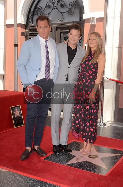 Will Arnett, Jason Bateman, Jennifer Aniston<br /> at the Jason Bateman Star on the Hollywood Walk of Fame, Hollywood, CA 07-26-17<br /> David Edwards/DailyCeleb.com 818-249-4998