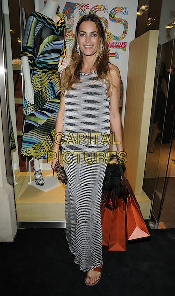 Yasmin Le Bon.Missoni for Hoping for Hoping Foundation launch party, New Bond Street, London, England 30th June 2011.full length.CAP/CAN.©Can Nguyen/Capital Pictures.