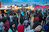 CANADA, Vancouver, British Columbia, view of the Asian Night Market at Magical Duck Island in Richmond