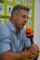 MONTERÍA - COLOMBIA ,30-01-2019:Lucas Pusineri director técnico del Deporivo Cali  ante Jaguares de Cordoba partido por la fecha 2 de la Liga Águila I 2019 jugado en el estadio Municipal Jaraguay de Montería . / Lucas Pusineri coach of  Deportivo Cali  during the match agaisnt of Jaguares of Cordoba  for the date 2 of the Liga Aguila I 2019 played at Municipal Jaraguay Satdium in Monteria City . Photo: VizzorImage / Andrés Felipe López  / Contribuidor.