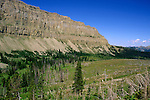 The Chinese Wall, Bob Marshall Wilderness Area, Lewis & Clark National Forest, Montana