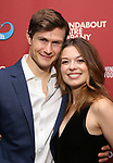 Kevin Munhall and Margo Seibert attends the cast party for the Roundabout Theatre Company presents a One-Night Benefit Concert Reading of 'Damn Yankees' at the Stephen Sondheim Theatre on December 11, 2017 in New York City.