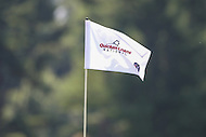 Bethesda, MD - June 25, 2016: Flag at hole 8 during Round 3 of professional play at the Quicken Loans National Tournament at the Congressional Country Club in Bethesda, MD, June 25, 2016.  (Photo by Elliott Brown/Media Images International)