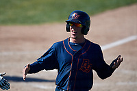 Bowling Green Hot Rods second baseman Miles Mastrobuoni (2) during a game against the Beloit Snappers on May 7, 2017 at Pohlman Field in Beloit, Wisconsin.  Bowling Green defeated Beloit 6-2.  (Mike Janes/Four Seam Images)