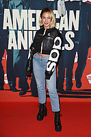 "Jess Woodley<br /> arriving for the premiere of ""American Animals"" screening at Somerset House, London<br /> <br /> ©Ash Knotek  D3425  22/08/2018"
