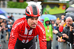 Tom Dumoulin (NED) Team Sunweb at sign on before the start of the 105th edition of Li&egrave;ge-Bastogne-Li&egrave;ge 2019, La Doyenne, running 256km from Liege to Liege, Belgium. 28th April 2019<br /> Picture: ASO/Gautier Demouveaux | Cyclefile<br /> All photos usage must carry mandatory copyright credit (&copy; Cyclefile | ASO/Gautier Demouveaux)