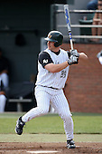 February 21, 2010:  Infielder Aaron Crittenden (39) of the Stetson Hatters during the teams opening series at Melching Field at Conrad Park in DeLand, FL.  Photo By Mike Janes/Four Seam Images