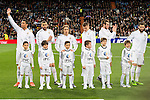 Real Madrid's players during La Liga match. March 20,2016. (ALTERPHOTOS/Borja B.Hojas)