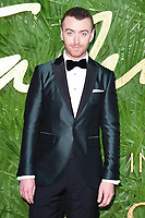 Sam Smith at the British Fashion Awards 2017 at the Royal Albert Hall, London, UK. <br /> 04 December  2017<br /> Picture: Steve Vas/Featureflash/SilverHub 0208 004 5359 sales@silverhubmedia.com