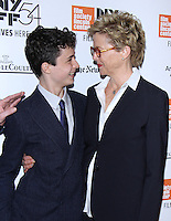 NEW YORK, NY-October 08:Lucas Jade Zumann, Annette Bening, at NYFF54 Centerpiece Gala presents the World Premiere of 20th Century Women  at Alice Tully Hall in New York.October 08, 2016. Credit:RW/MediaPunch