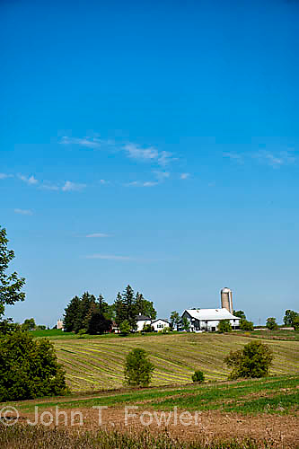 Farm scene, Waterloo Couinty, Ontario