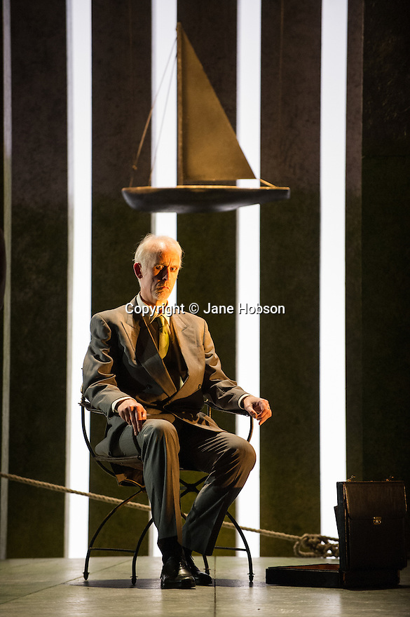 """London, UK. 06.03.2013. English Touring Opera presents SIMON BOCCANEGRA at the Hackney Empire, prior to touring it in rep with """"Cosi Fan Tutte"""" and """"The Siege of Calais"""".  Picture shows: Craig Smith (Simon Boccanegra). Photo credit: Jane Hobson."""