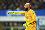 Tim Howard of Everton - Everton vs. Leicester City - Barclay's Premier League - Goodison Park - Liverpool - 22/02/2015 Pic Philip Oldham/Sportimage