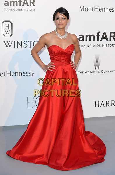 Michelle Rodriquez - arrivals at amfAR&rsquo;s Cinema Agains Aids Gala at Hotel du Cap, Antibes during the Cannes Film Festival on May 21, 2015 in Cap d'Antibes, France.<br /> CAP/CAS<br /> &copy;Bob Cass/Capital Pictures