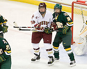 Ashley Motherwell (BC - 18), Jackie Thode (Vermont - 19) - The University of Vermont Catamounts defeated the Boston College Eagles 5-1 on Saturday, November 7, 2009, at Conte Forum in Chestnut Hill, Massachusetts.