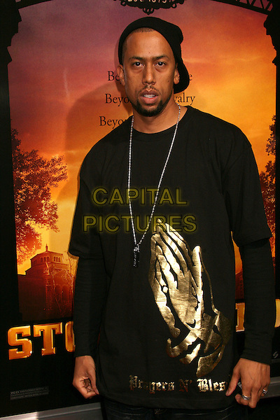 "AFFIRON CROCKETT.""Stomp The Yard"" Los Angeles Premiere at Arclight Cinemas, Hollywood, California, USA, 8 January 2007..half length.CAP/ADM/BP.©Byron Purvis/AdMedia/Capital Pictures."