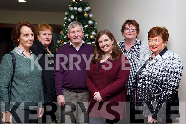 Attending the Tralee International Bridge Congress in the Manor west tralee on Saturday night last. L-r, Catherina Kearney (Tralee), Joan Meehan (Tralee), Tom Hardiman (President of Tralee Bridge Congress), Sarah Hardiman (Tralee), Clancy Treacy (Tralee) and Marion O'Dowd (Tralee).