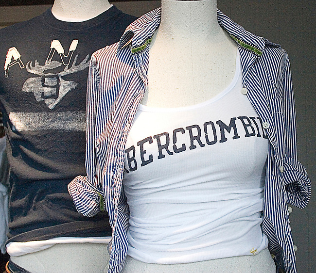 Shopping, Abercrombie & Fitch, Chicago, Illinois