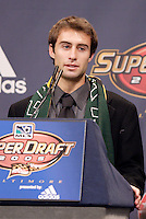 Michael Enfield (University of California - Los Angeles) is picked by the Los Angeles Galaxy in the second round of the MLS SuperDraft held at the Baltimore Convention Center, Baltimore, MD, on Friday, January 14, 2005..