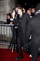 LONDON, ENGLAND - FEBRUARY 09 :  Timothee Chalamet arrives at the Charles Finch and Chanel pre-BAFTA party at Loulou's on February 09, 2019 in London, England.<br /> CAP/AH<br /> &copy;Adam Houghton/Capital Pictures